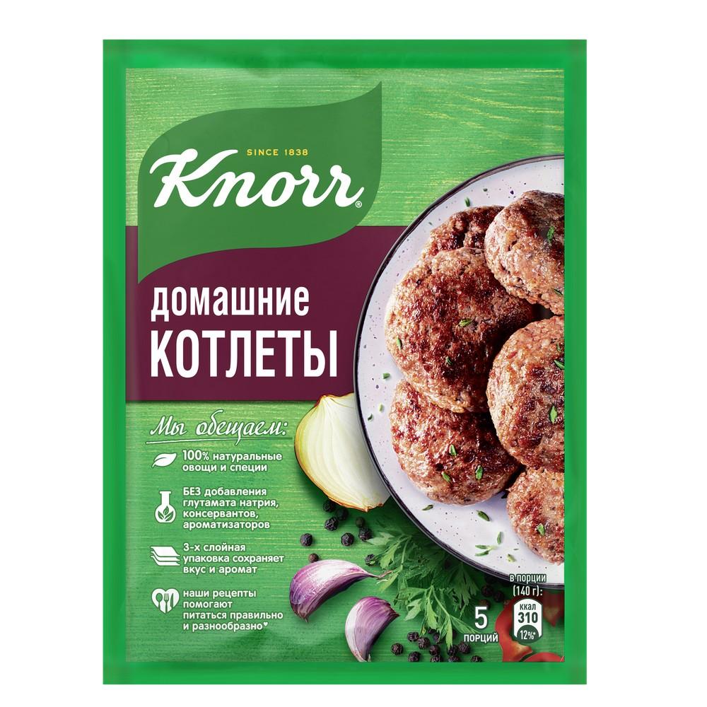 """Приправа Knorr """"На второе"""" Домашние котлеты, 44гр"""