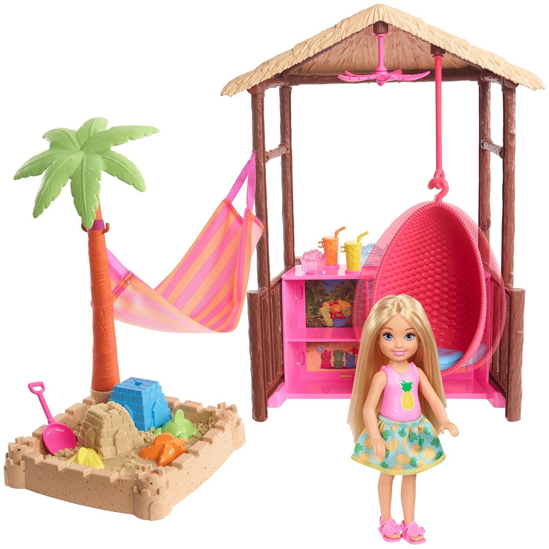 """Игровой набор Barbie """"Челси в хижине Тики"""""""