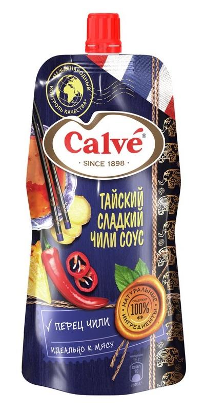 """Соус Calve """"Тайский сладкий чили"""", 230гр фото"""