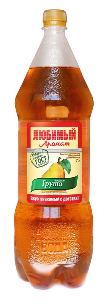 "Лимонад Любимый Аромат ""Груша"", 2л"
