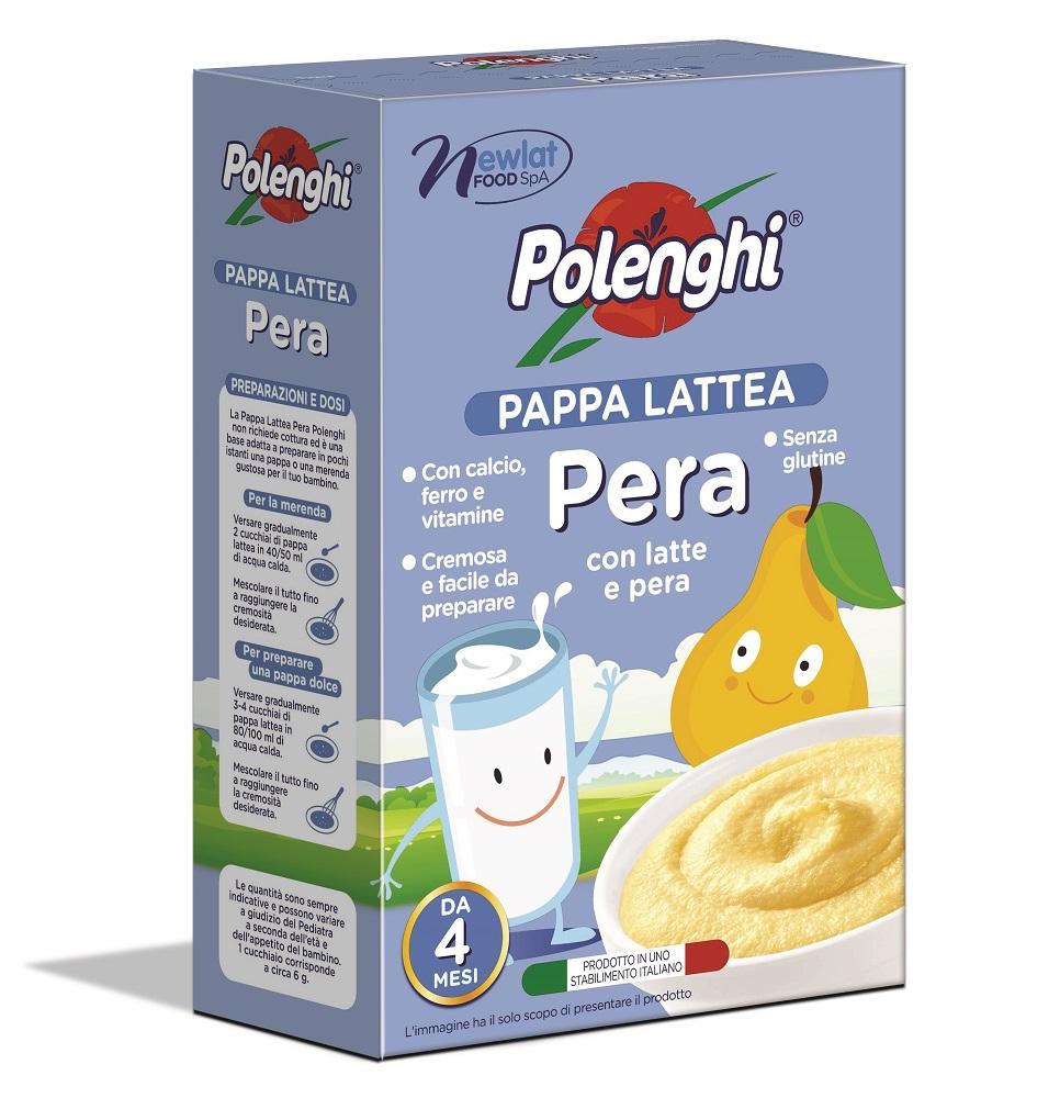 Купить Каша Polenghi рисовая молочная грушевая, 250гр, Италия