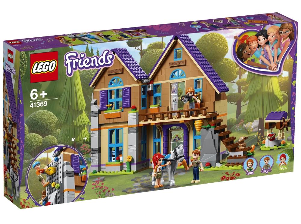 """Конструктор LEGO Friends 41369 """"Дом Мии"""", 715 деталей фото"""