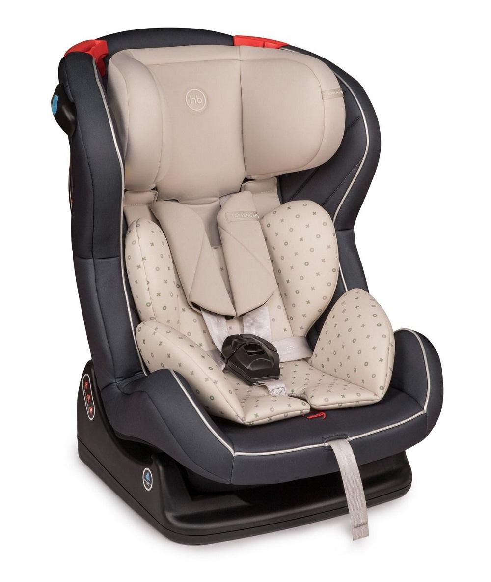Купить Детское автокресло Happy Baby Passenger V2, до 25кг (цвета в ассорт.), Babyhit, Китай, Графит