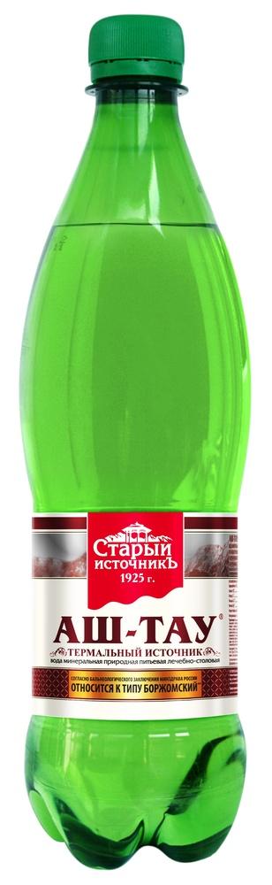 Купить Вода минеральная Аш-Тау, лечебно-столовая, газированная, 0, 5л, Старый источник, Россия