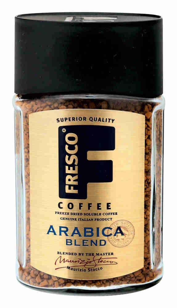 Кофе Fresco Arabica Blend растворимый сублимированный, 100гр фото