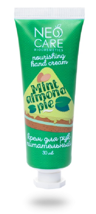 Купить Крем Neo Care Mint almond pie для рук, 30мл, Россия