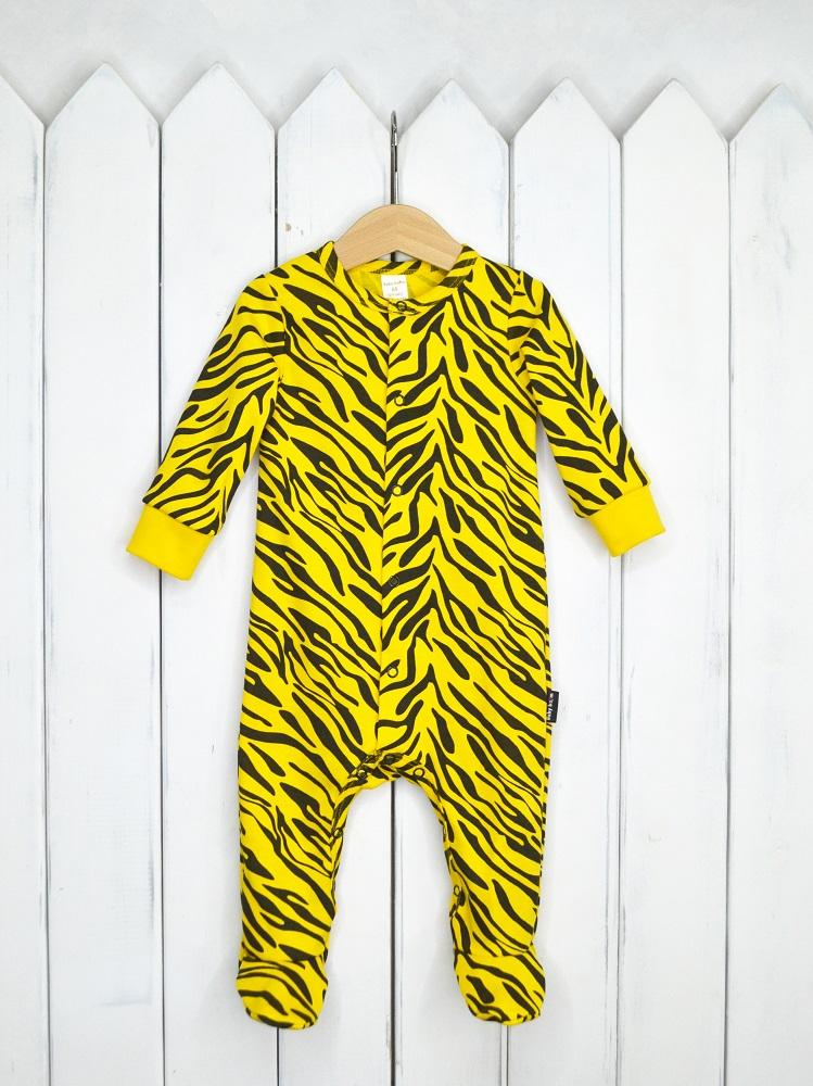 Купить Комбинезон Baby Boom Тигр , Наша Мама, Россия, Желтый, 62