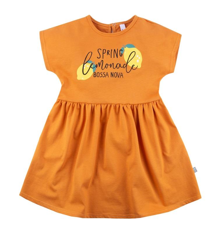 Купить Платье Bossa Nova Весна Lemonade для девочки, оранжевое, Hasbro, США, Оранжевый, 134
