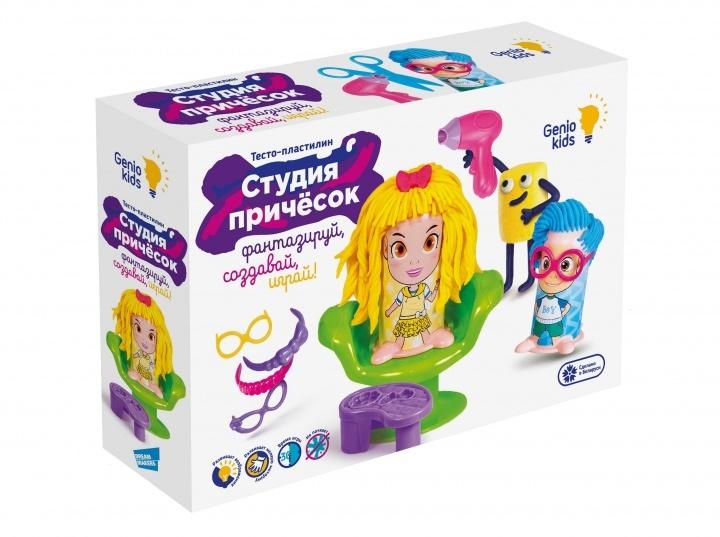 Купить Набор для лепки Genio Kids Студия причесок , Украина