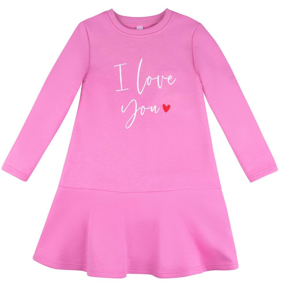 Купить Платье Bossa Nova I love you, розовое, Sohni-Wicke, Германия, Розовый, 116