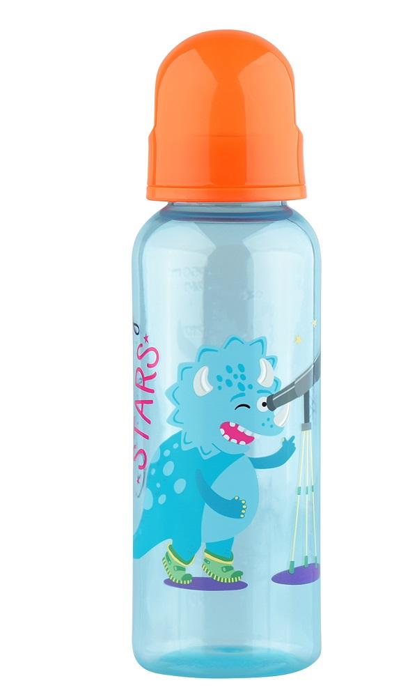 Купить Бутылочка для кормления Lubby с силиконовой соской, 250мл, Швейцария