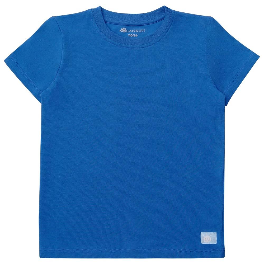 Купить Футболка Kogankids для мальчика, синяя, Bembi, Украина, Синий, 122