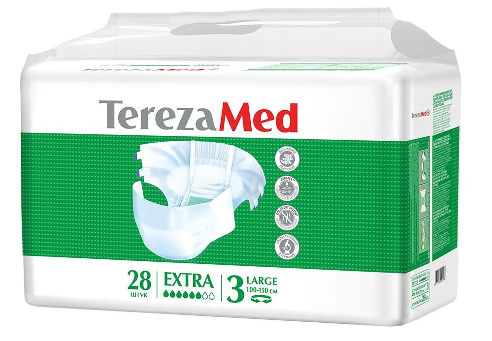 Подгузники для взрослых TerezaMed Extra Large №3, 28шт.