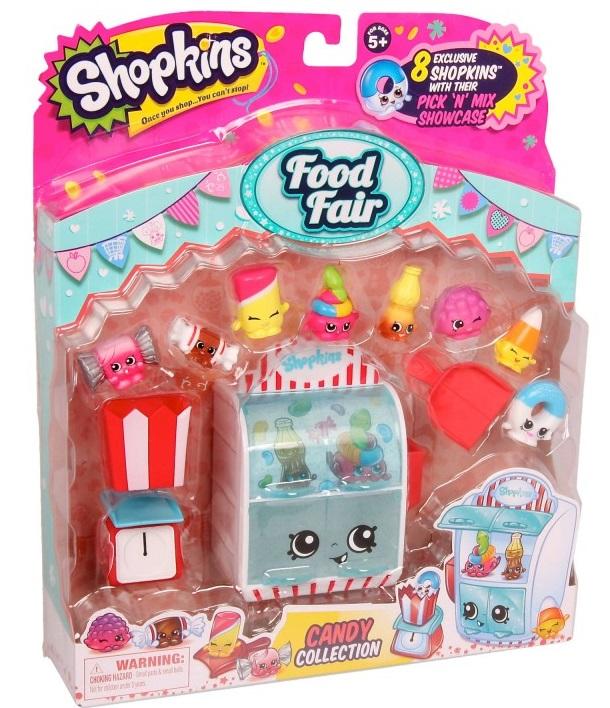 Купить Игровой набор Shopkins Ярмарка вкусов Коллекция конфет, Moose, Австралия
