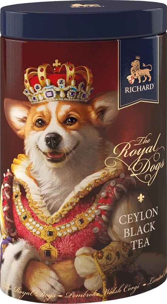 Купить Чай черный Richard The Royal Dogs, 80гр, Россия