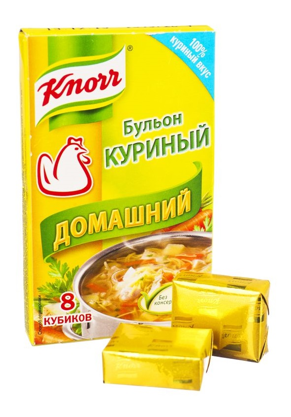 "Бульонные кубики Knorr ""Куриный домашний"", 10гр"