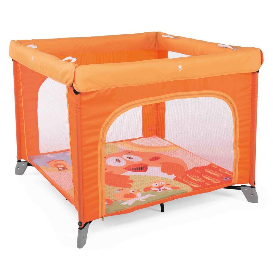 Манеж детский Chicco Open Fancy Chicken, оранжевый фото