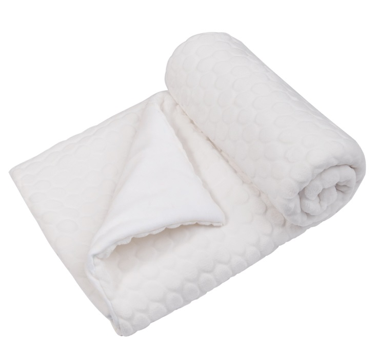 Купить Утепленный плед Сонный гномик Буль-буль , белый, Сонный Гномик, Россия