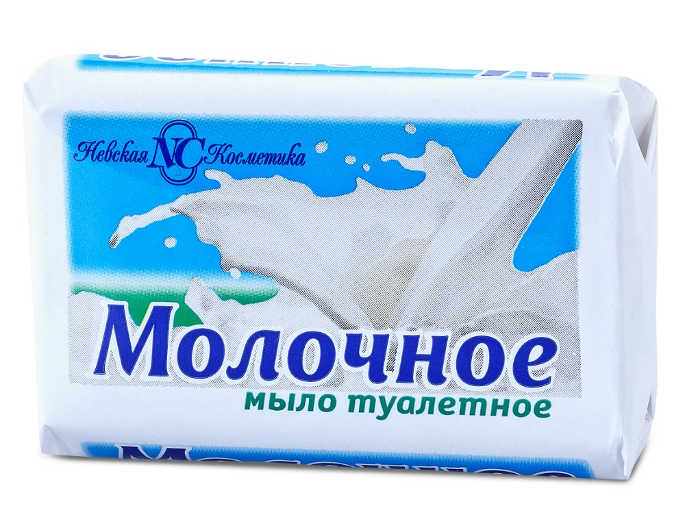 Купить Мыло туалетное Невская Косметика Молочное , 90гр, Россия