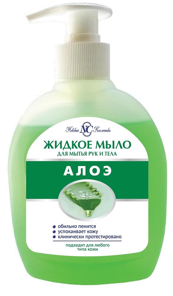 Купить Мыло Невская Косметика Алоэ , жидкое, 300мл, Россия