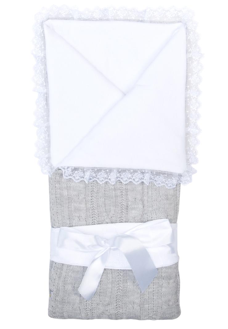 Купить Конверт-одеяло Сонный Гномик Нежность , дымчато-серый, Россия
