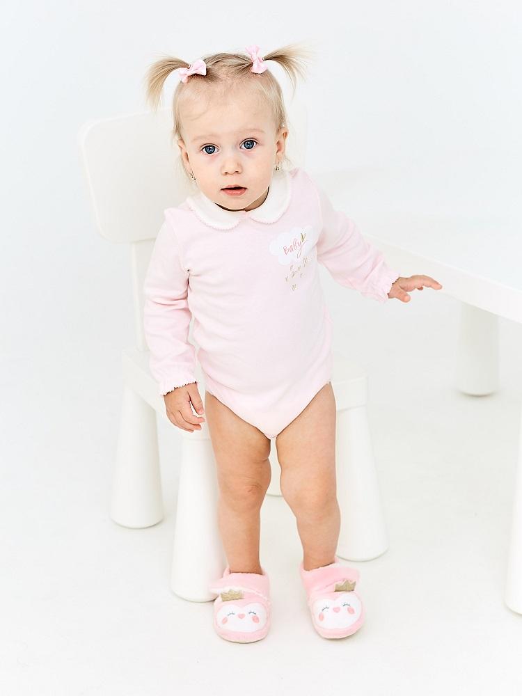 Купить Боди UMKA 409-015-02-192 детское, розовое, CS Medica, Россия, Розовое, 62