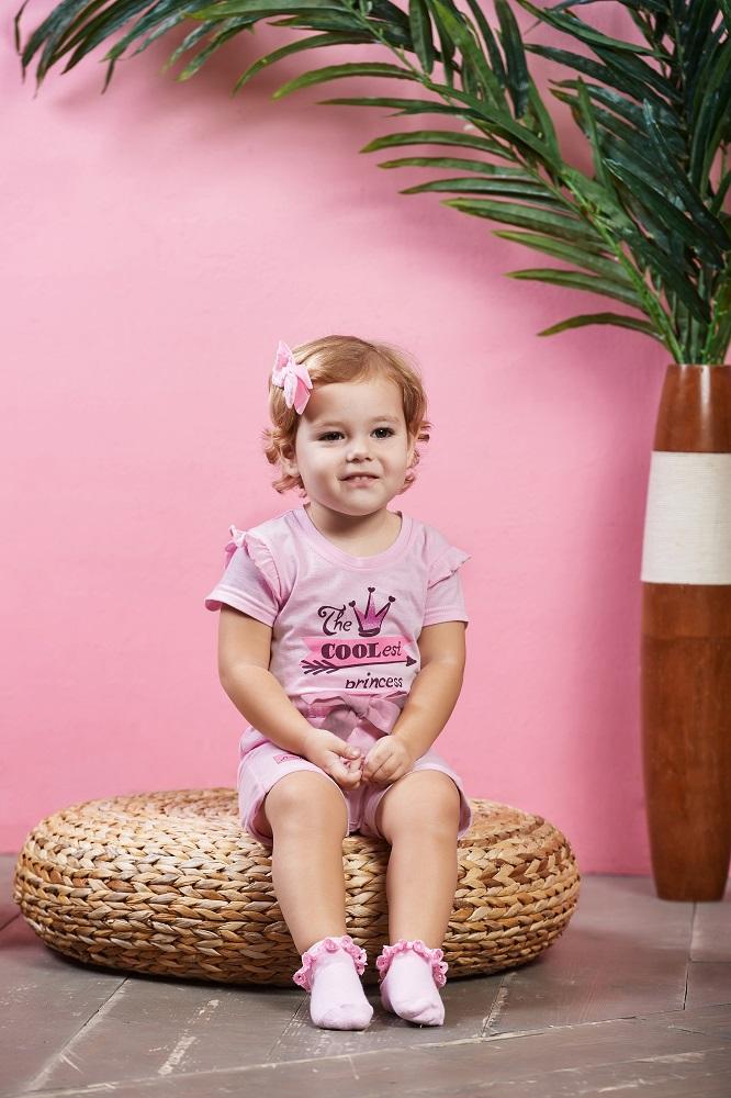 Купить Полукомбинезон Lucky Child Принцесса Сказки , розовый, Наша Мама, Россия, Розовый, 62