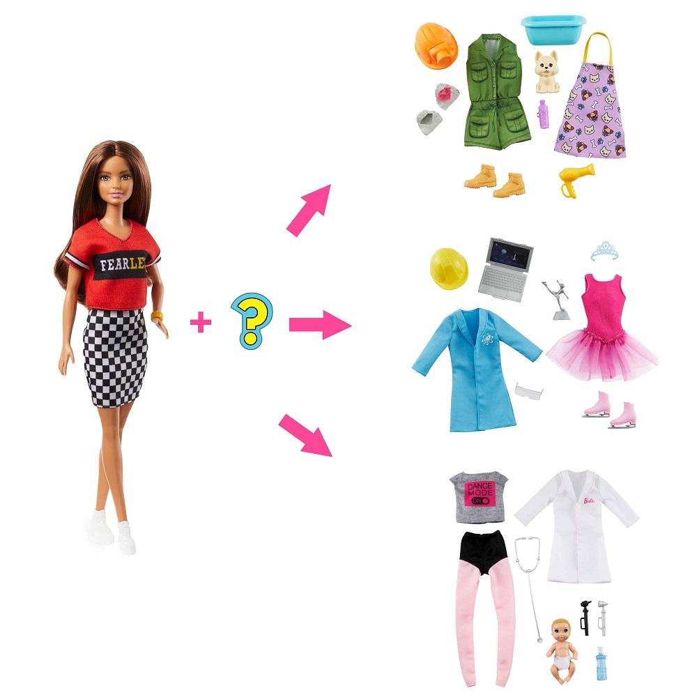 """Кукла-сюрприз Barbie из серии """"Загадочные профессии"""""""