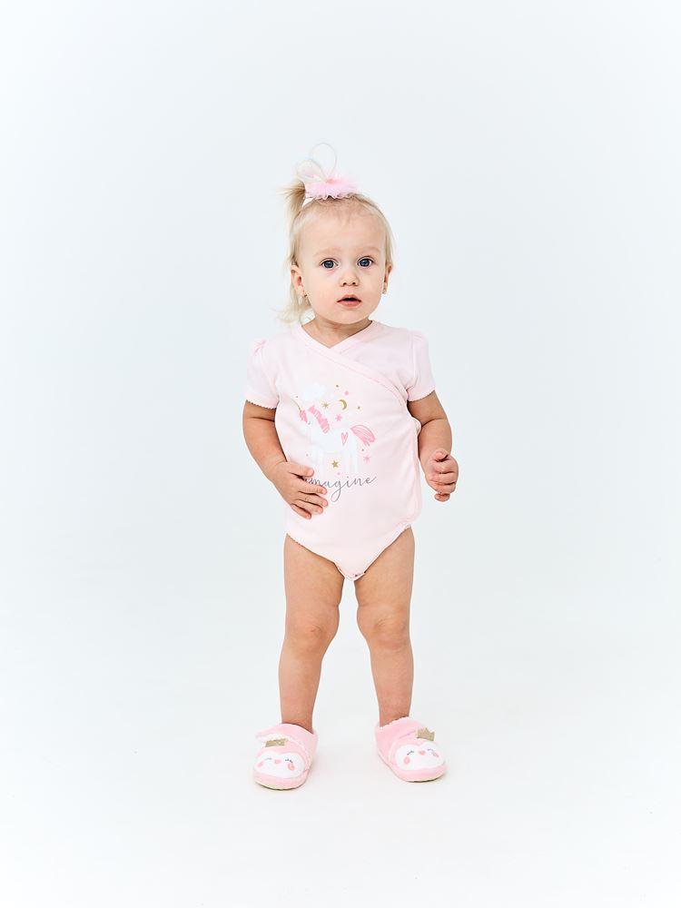 Купить Боди UMKA 409-012-04-192 детское, розовое, CS Medica, Россия, Розовый, 80