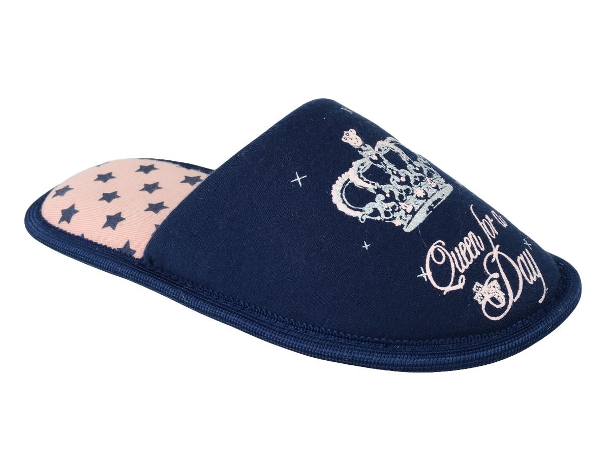 Тапочки домашние Mursu 205216, синие