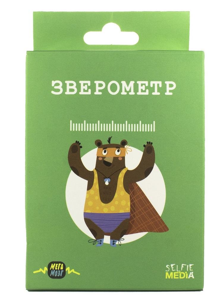 Купить Настольная игра Selfie Media Зверометр , Россия