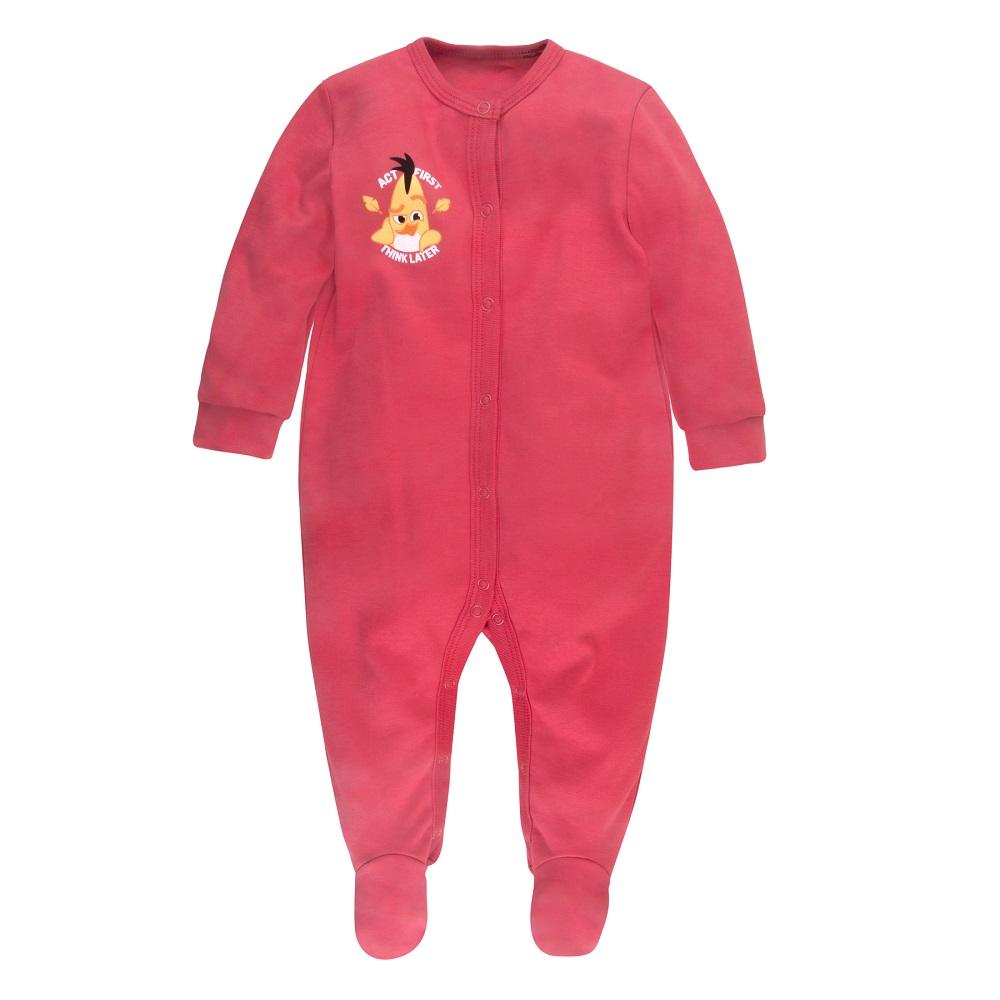 """Комбинезон Bossa Nova """"Angry Birds"""" с лапками, розовый"""
