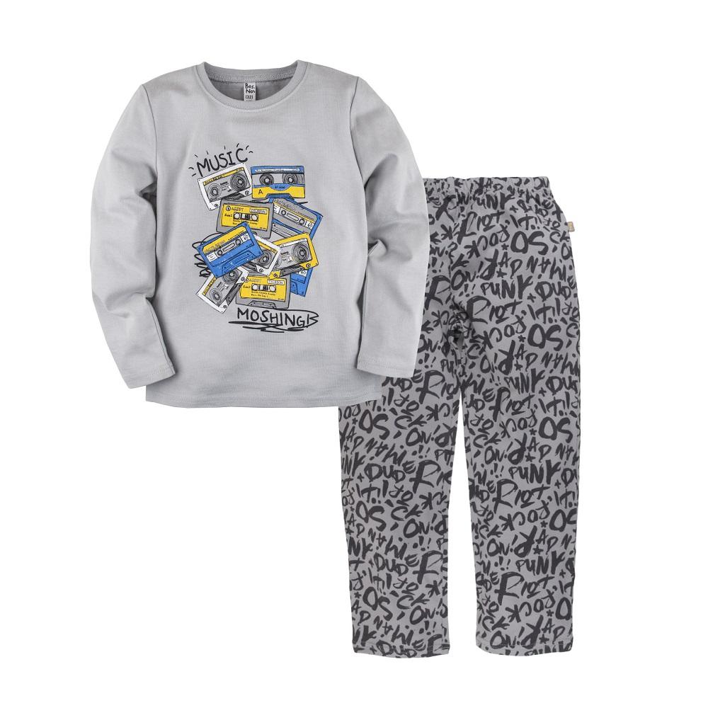 "Пижама Bossa Nova ""Маэстро"" для мальчика: джемпер и брюки Журавлик"