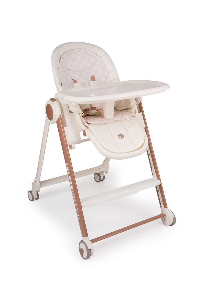 Купить Стул для кормления Happy Baby BERNY V2, Polini Kids, Россия, Молочный