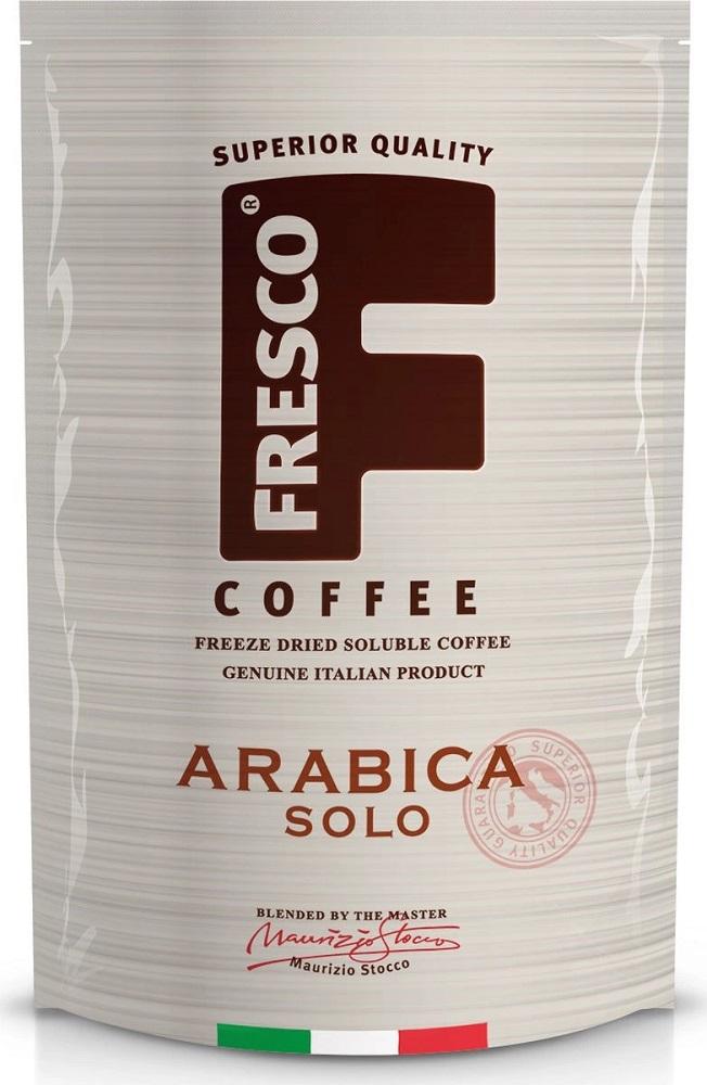 Кофе Fresco Arabica Solo растворимый сублимированный, 190гр фото