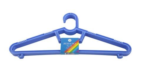 Комплект детских вешалок Полимербыт, 3шт Bondibon синего цвета
