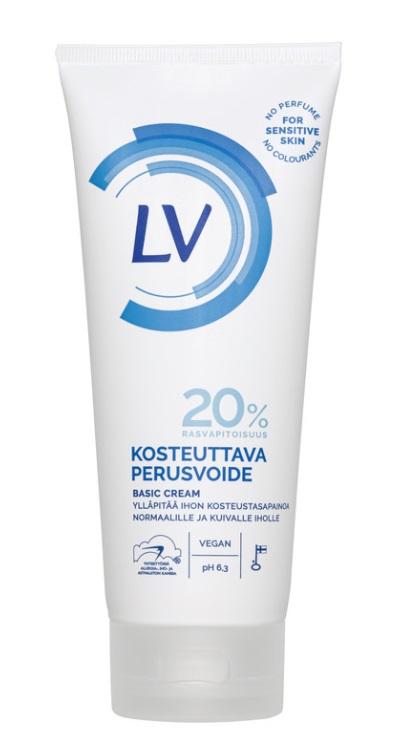 """Базовый питательный крем для тела LV """"20% масел"""", 200мл фото"""