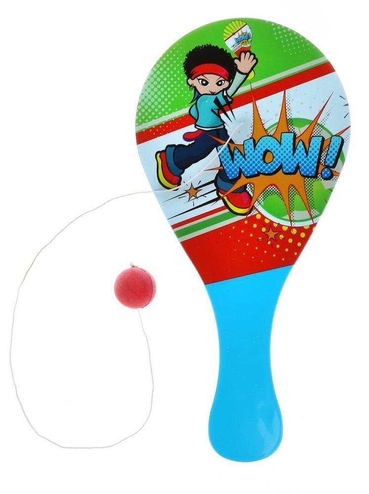 Ракетка с шариком Наша Игрушка 0680, 26см