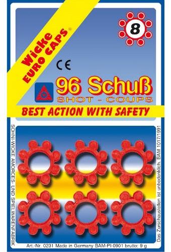 Пистоны 8-зарядные Sohni-Wicke, 96шт. фото
