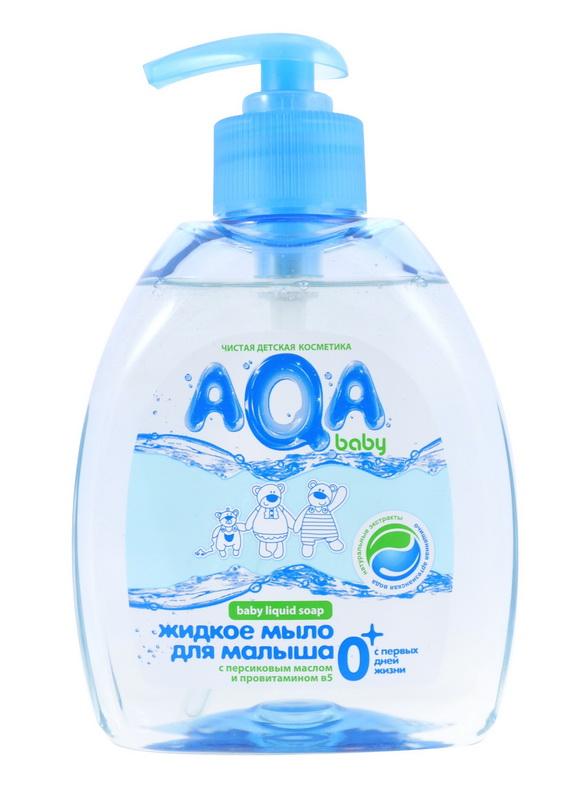 Купить Жидкое мыло AQA baby для малыша, 300мл, Россия