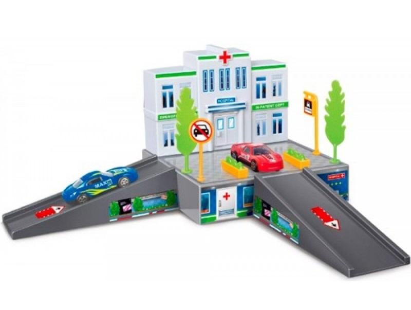 Купить Игровой набор Dave Toy Больница с 1 машинкой, Китай