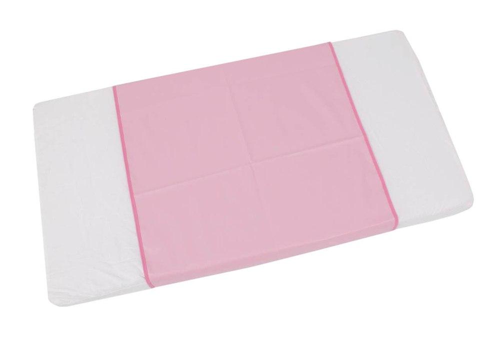 "Пеленка-клеенка окантованная ""Фея"", 68х100см, розовая"