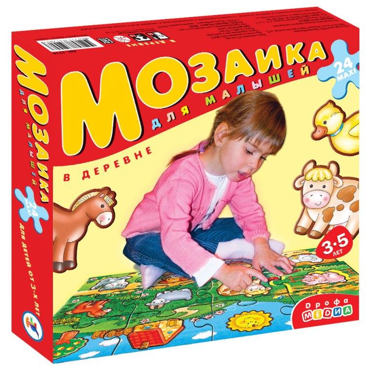 """Мозаика для малышей """"В деревне"""" фото"""