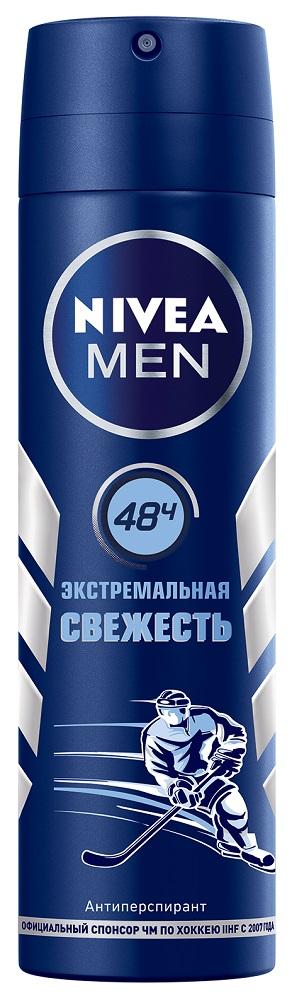 Купить Антиперспирант-спрей Nivea Men Экстремальная свежесть , 150мл, Германия