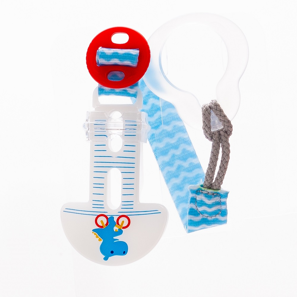 Купить Держатель для пустышки МАМ Clip it! (цвета в ассорт.), Canpol babies, Польша, голубой