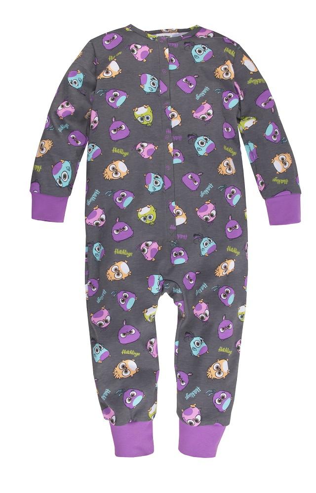 Купить Пижама-комбинезон Bossa Nova Angry Birds для девочки, Витоша, Россия, Мульти, 110