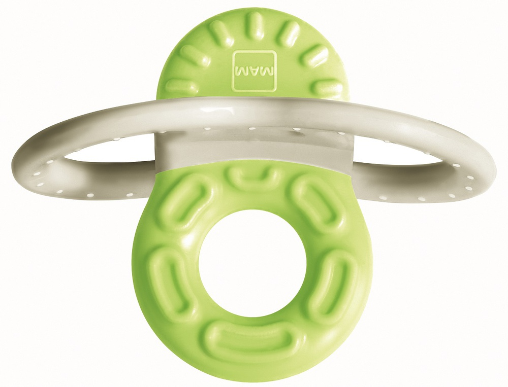 Купить Мини-прорезыватель MAM Bite&Relax Phase 1 для передних зубов (цвета в ассорт.), Canpol babies, Польша, зеленый