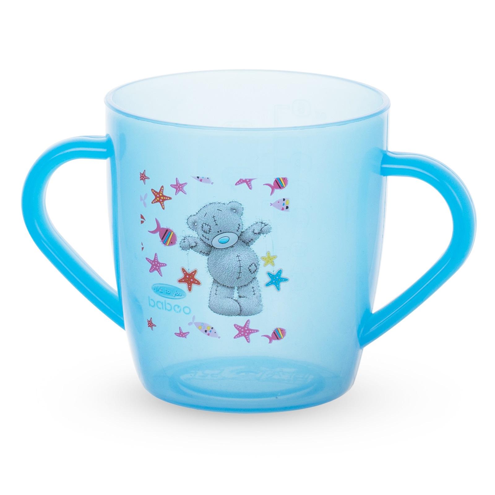 Купить Чашка с ручками Baboo Me to You, 200мл, AVENT Philips, Нидерланды, Голубой