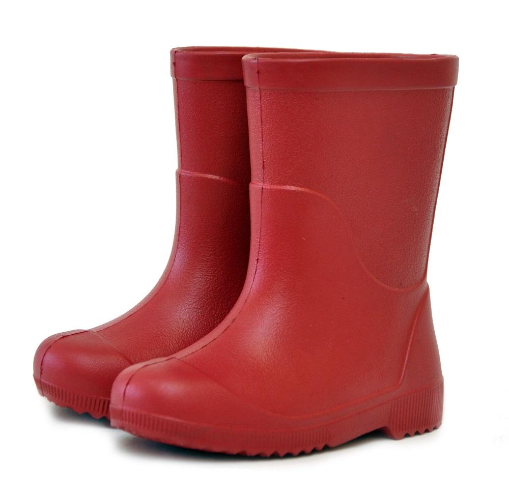 Купить Резиновые сапоги Nordman Kids 105-R01, красные, Феникс, Россия, Красный, 24-25