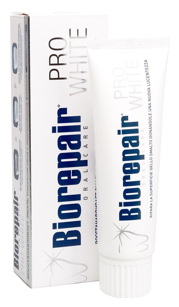 Купить Зубная паста Biorepair PRO White, 75мл, Италия